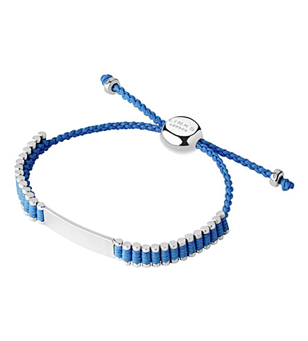 LINKS OF LONDON Friendship bracelet (Blue