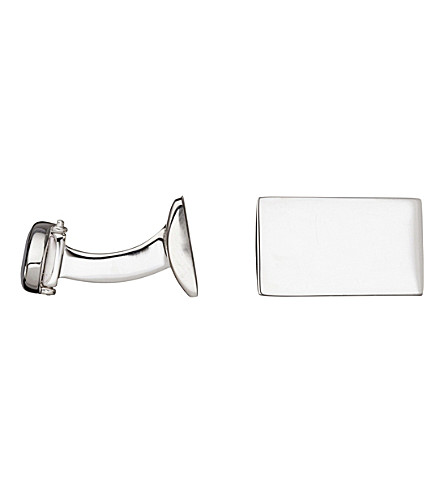 LINKS OF LONDON Rogue Identity T-bar sterling silver cufflinks