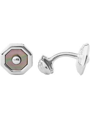 LINKS OF LONDON Sloane Square T-bar sterling silver cufflinks