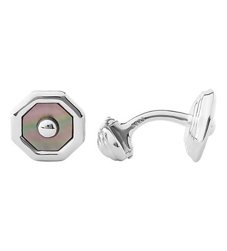 LINKS OF LONDON Sloane Square T-bar sterling silver cufflinks