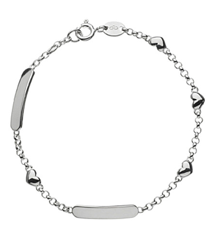 LINKS OF LONDON Sterling silver baby ID bracelet