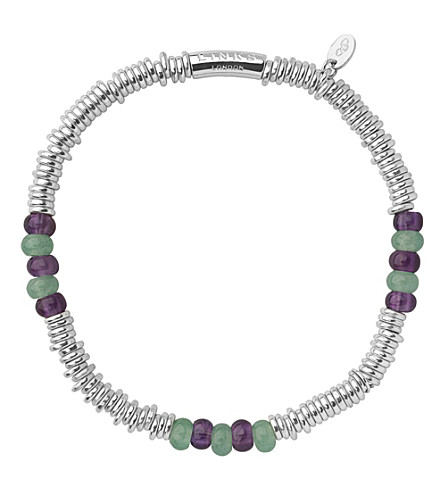 LINKS OF LONDON Wimbledon extra-small sweetie bracelet (Multi