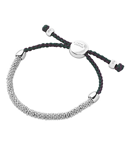 LINKS OF LONDON Wimbledon effervescence extra-small cord bracelet (Multi