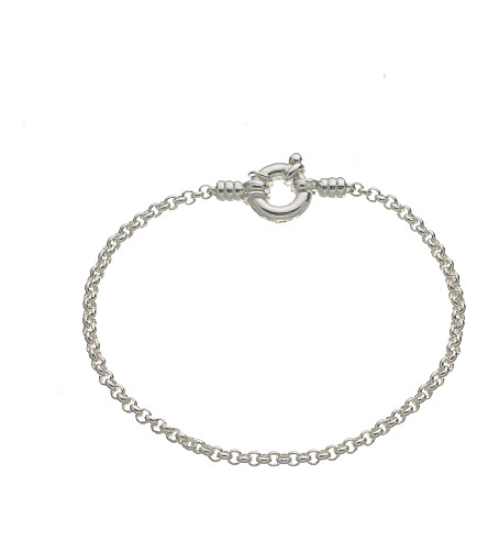 LINKS OF LONDON Mini belcher sterling silver bracelet