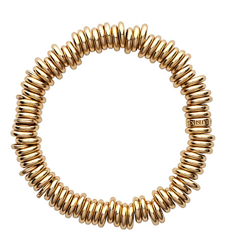 LINKS OF LONDON 18-carat gold rolled sweetie bracelet (Gold
