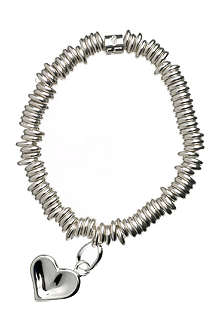 LINKS OF LONDON Sweetie heart sterling silver bracelet