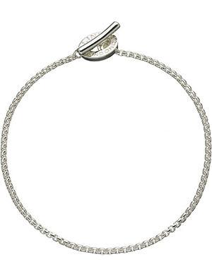 LINKS OF LONDON Sterling silver box belcher bracelet