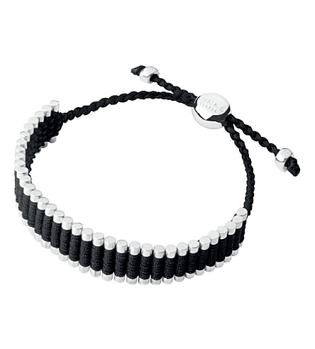 LINKS OF LONDON Friendship bracelet black