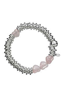 LINKS OF LONDON Sweetie Candy Hearts sterling silver bracelet