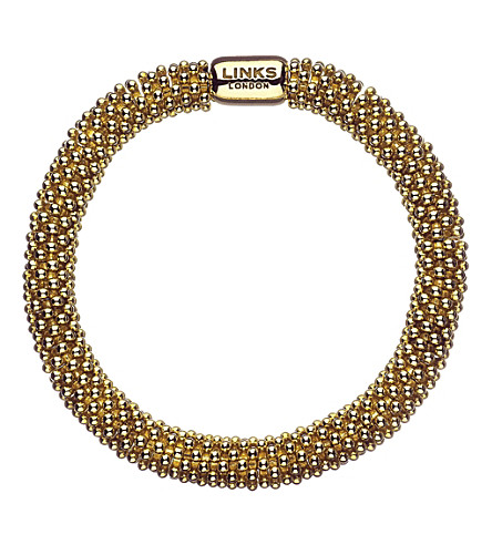 LINKS OF LONDON Effervescence Star bracelet (Gold