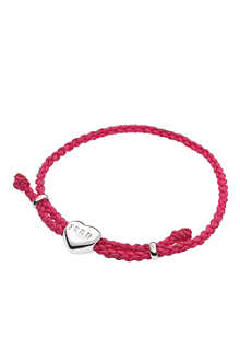 LINKS OF LONDON Feed heart cord bracelet