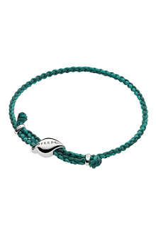 LINKS OF LONDON Feed leaf cord bracelet