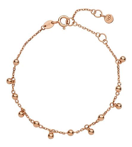 LINKS OF LONDON 18-carat rose-gold Effervescence bubble bracelet (Rose gold
