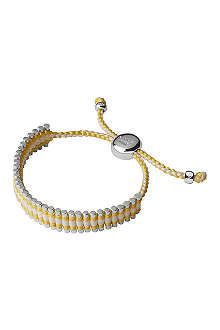 LINKS OF LONDON Selfridges sterling silver friendship bracelet