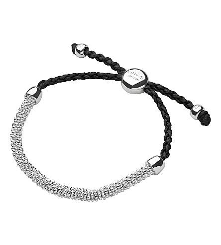 LINKS OF LONDON Effervescence extra-small cord bracelet