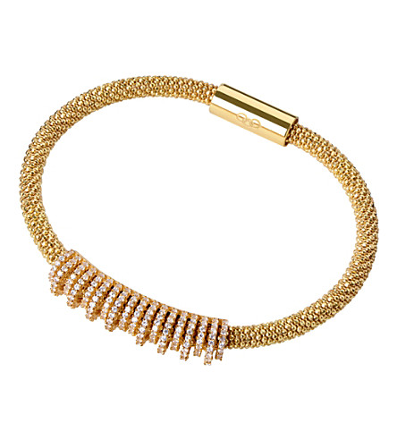 LINKS OF LONDON Star Dust Crown bracelet (Gold
