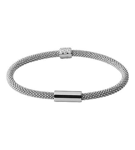 LINKS OF LONDON Star Dust bead sterling silver bracelet