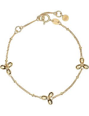 LINKS OF LONDON Night Time Garden Dawn Flower bracelet