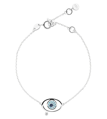 LINKS OF LONDON Evil eye sterling-silver bracelet