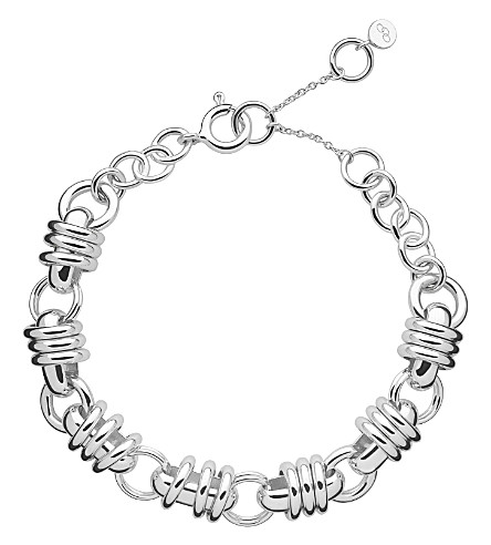 LINKS OF LONDON Sweetie charm chain bracelet (Silver
