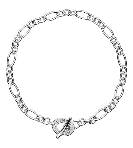 LINKS OF LONDON Signature extra small sterling silver bracelet (Silver