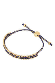 LINKS OF LONDON Mini gold-vermeil friendship bracelet