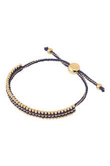 LINKS OF LONDON Mini gold-vermeil friendship bracelet