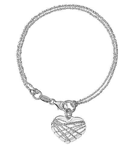 LINKS OF LONDON Dream Catcher Heart bracelet (Silver