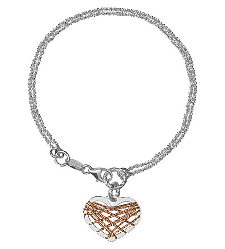 LINKS OF LONDON Dream Catcher Heart bracelet (Multi
