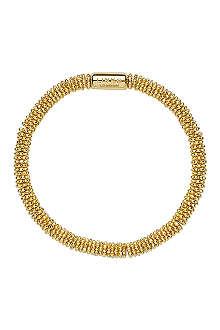 LINKS OF LONDON Effervescence Star extra-small yellow-gold vermeil bracelet