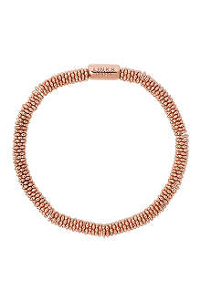 LINKS OF LONDON Effervescence Star extra-small rose-gold plated bracelet