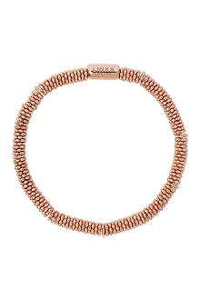LINKS OF LONDON Effervescence Star extra-small rose-gold plated bracelet