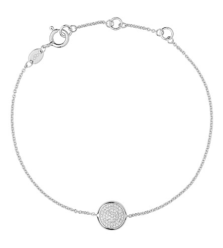 LINKS OF LONDON Diamond Essentials pave sterling silver bracelet