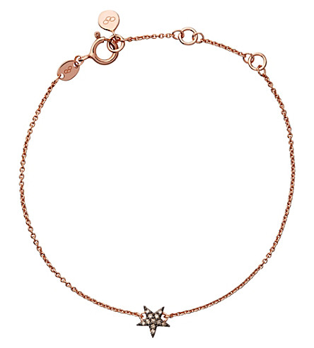 LINKS OF LONDON Diamond Essentials 18ct rose gold-vermeil and diamond bracelet