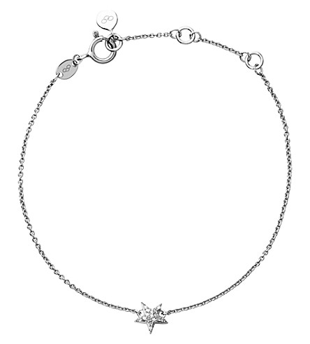 LINKS OF LONDON Diamond essentials sterling silver and diamond bracelet