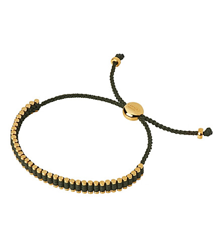 LINKS OF LONDON 18ct gold-plated mini friendship bracelet