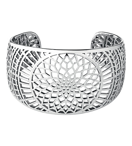 LINKS OF LONDON Timeless sterling silver cuff bracelet (Silver