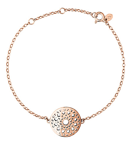 LINKS OF LONDON Timeless 18ct rose-gold vermeil bracelet