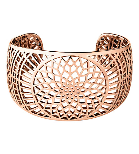 LINKS OF LONDON Timeless 18ct rose-gold vermeil cuff