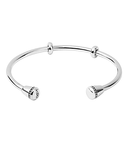 LINKS OF LONDON Narrative sterling silver charm cuff