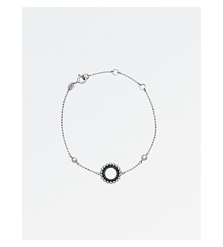 LINKS OF LONDON Effervescence sterling silver and diamond bracelet (Silver