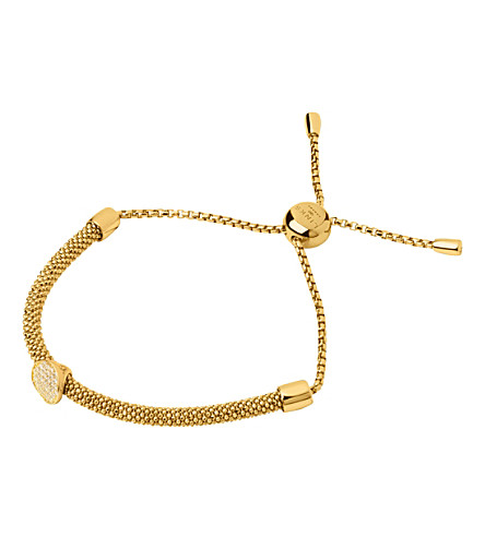 LINKS OF LONDON Starlight 18ct yellow-gold vermeil and sapphire round bracelet