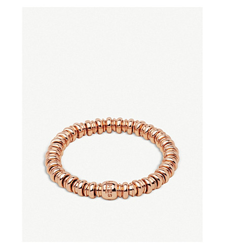 LINKS OF LONDON Sweatheart 18ct rose-gold vermeil bracelet
