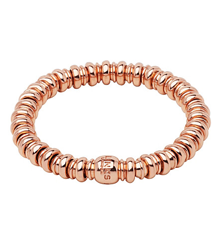 LINKS OF LONDON Sweetheart 18ct rose-gold bracelet (Rose+gold