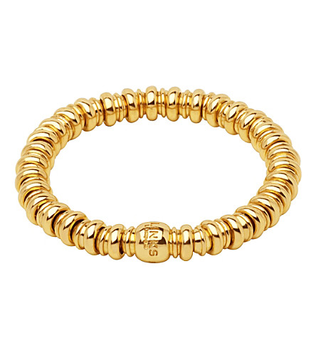 LINKS OF LONDON Sweetheart 18ct yellow-gold vermeil bracelet (Gold
