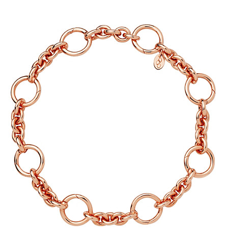 LINKS OF LONDON Capture 18ct rose-gold vermeil bracelet (Rose+gold