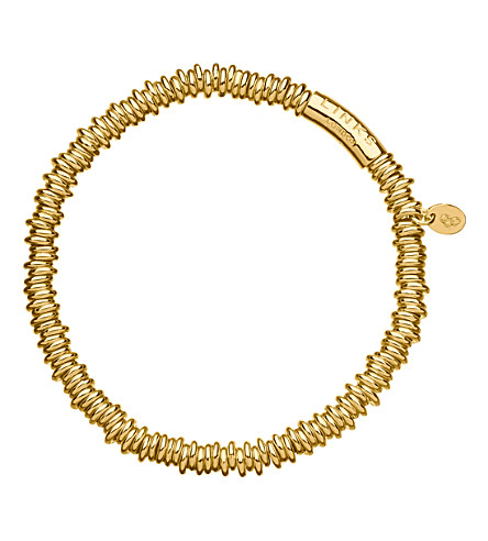 LINKS OF LONDON Sweetie XS 18kt gold vermeil bracelet