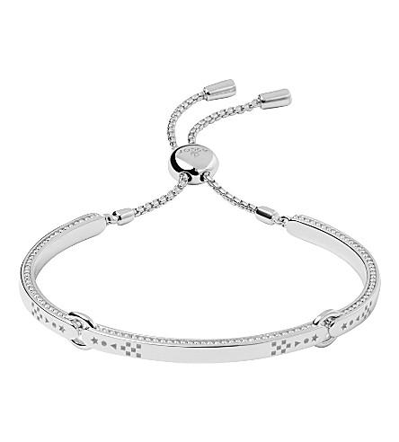 LINKS OF LONDON Ascot Narrative sterling silver bracelet
