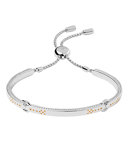 LINKS OF LONDON Ascot silver & gold vermeil bracelet