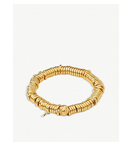 LINKS OF LONDON Sweetie 18ct yellow-gold vermeil bracelet